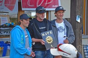 2. Philippe Knecht /1. Mike Martin / 3. Patrick Koller