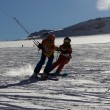 Swiss Snowkite Tour Glacier 3000, Kaspar und Jonas